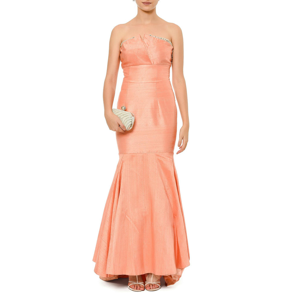 Ophelia Night Dress Mysabella Salmon