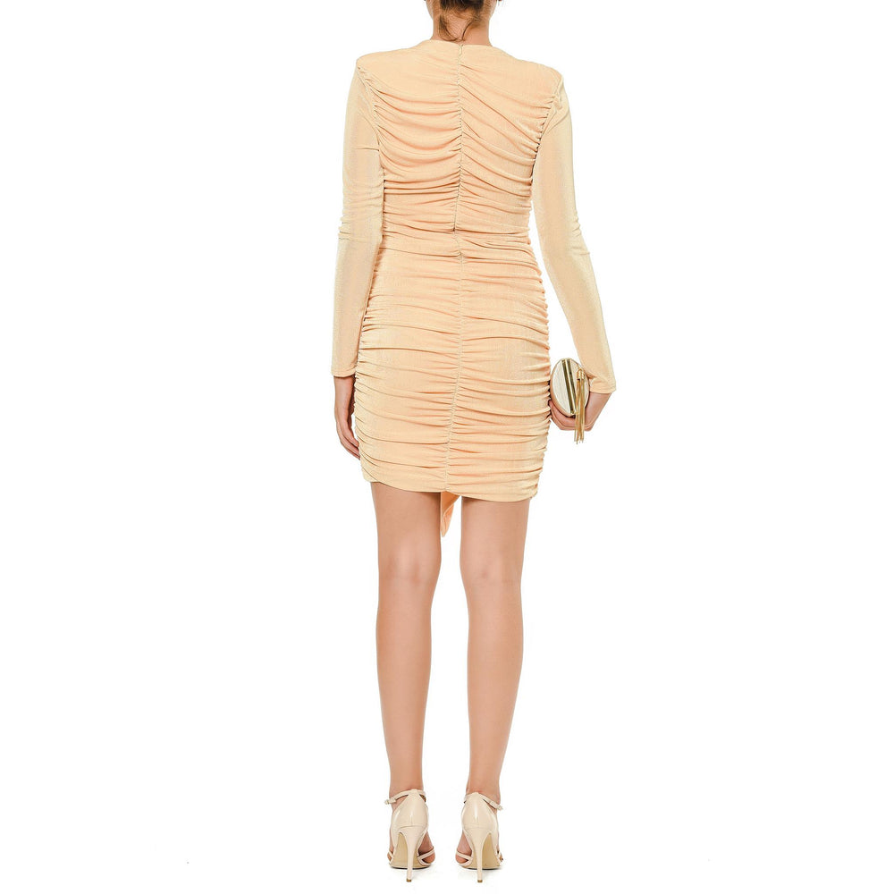 Jennifer short dresses Mysabella salmon
