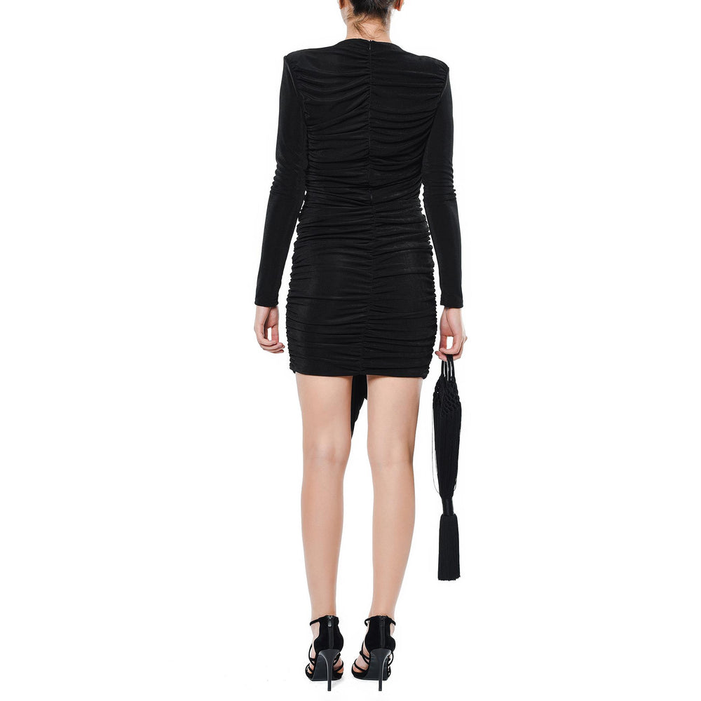 Jennifer Short Dress Mysabella Black
