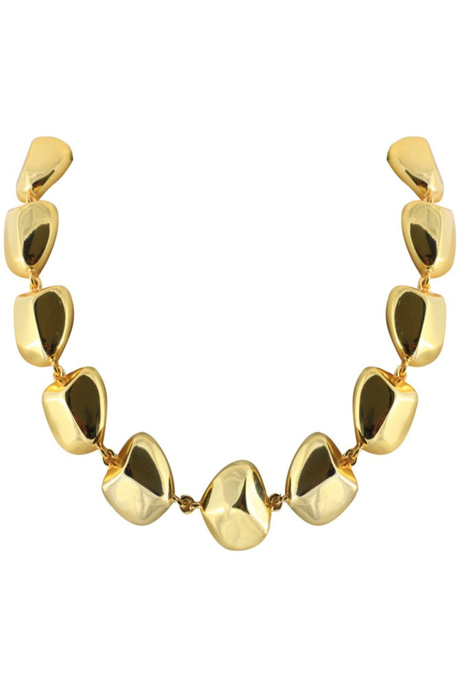 Maya Necklace Ponponiere Gold