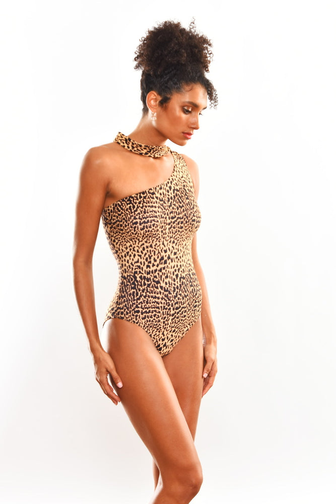 Desirable Mayo Leopar Normaillot
