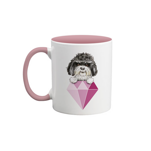 Rescue Dogs Are a Girl's Best Friend Mug
