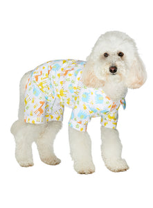Animal Print Dog Pyjamas