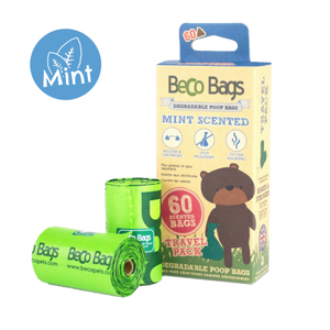 Beco Pets Mint Scented Degradable Pop Bags Multi 120