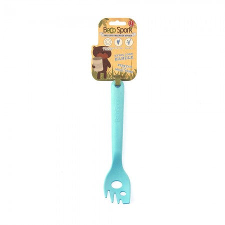 Beco Recycled Bamboo Mashing Spork Blue