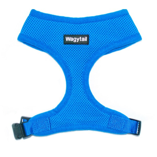 Blue Mesh Dog Harness