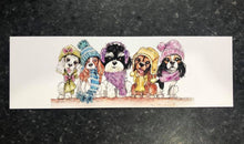 Winter Woolies Bookmarks x 3