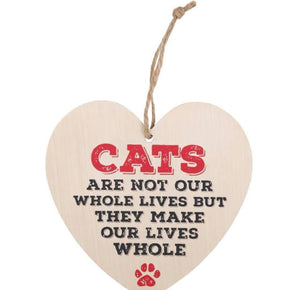 Cats Are Not Our Whole Lives But They Make Our Lives Whole