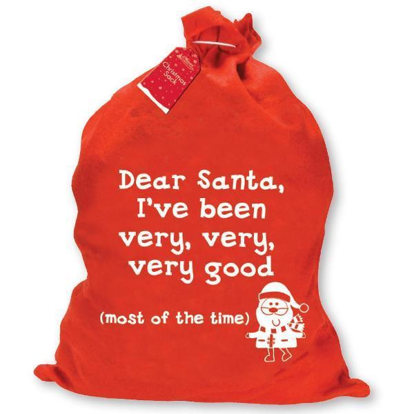 I've Been Very Good Christmas Sack