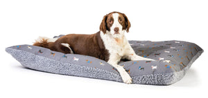 FatFace Marching Dogs Deep Duvet Dog Bed