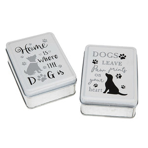Dogs Life Oblong Tin