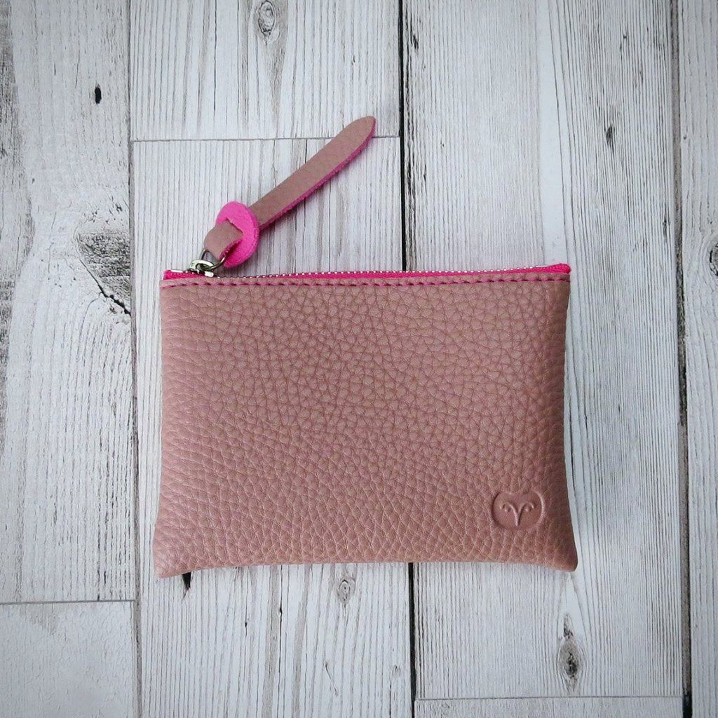 Tawny Coin Purse - Pink