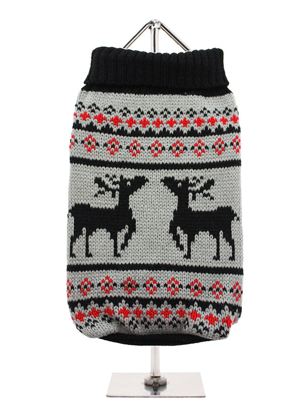 Grey Reindeer Jumper