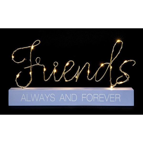 LED Friends Always And Forever Ornament