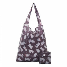 Eco Chic Lightweight Foldable Reusable Shopping Bag - Scatty Scotty