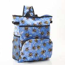 Eco Chic Lightweight Foldable Backpack Cooler - Bees