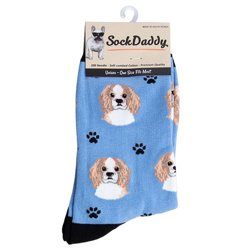 Dog Lover Socks - Cavalier King Charles Spaniel