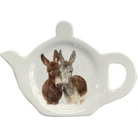Jack And Diane Donkey Teabag Tidy