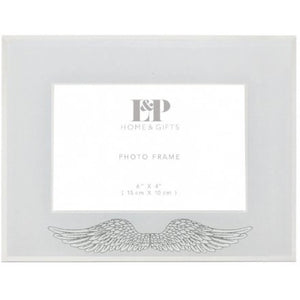 Angel Wings Mirrored Frame