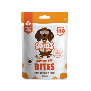 Denzel's Nut Butter Bites - Soft 'n' Squishy Low Cal Training Treats