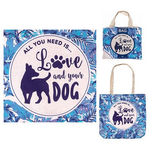 Doggy Style Eco Shopper - All You Need Is Love