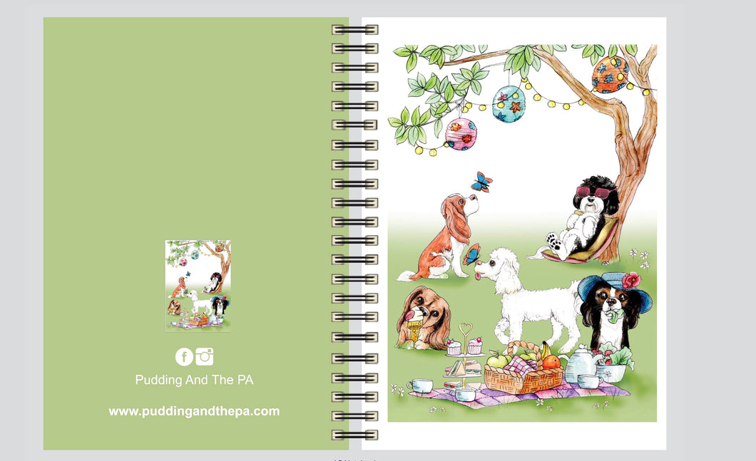 Time To Picnic Wiro Notebook