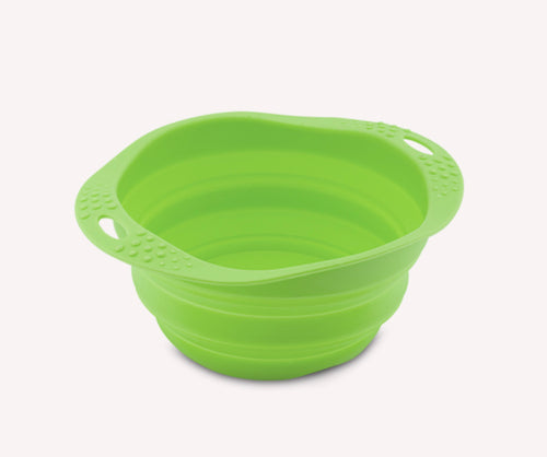 Beco Collapsible Travel Bowl Green
