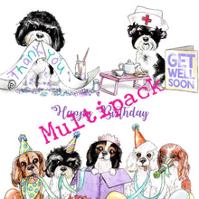 Greetings Cards (Multipack x 3 or x 6)