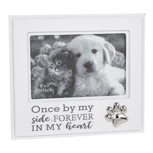 Once By My Side Forever In My Heart Pet Remembrance Frame