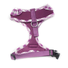 Purple Frilly Dog Harness