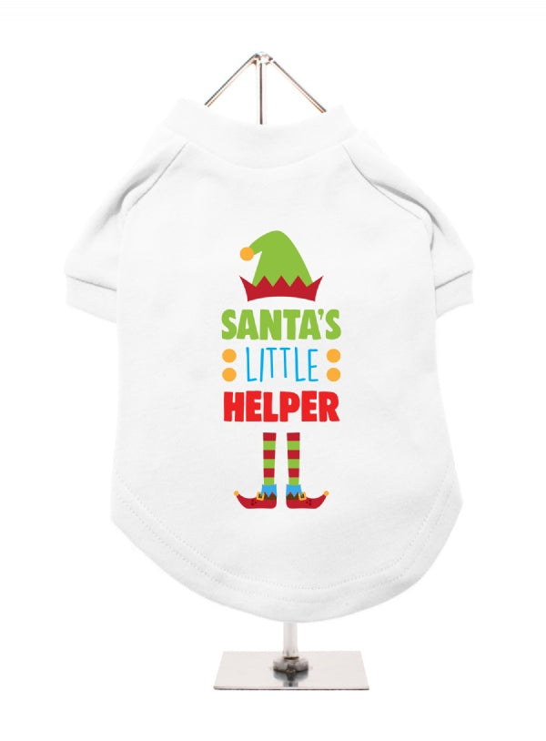 Santa's Little Helper Dog T-Shirt