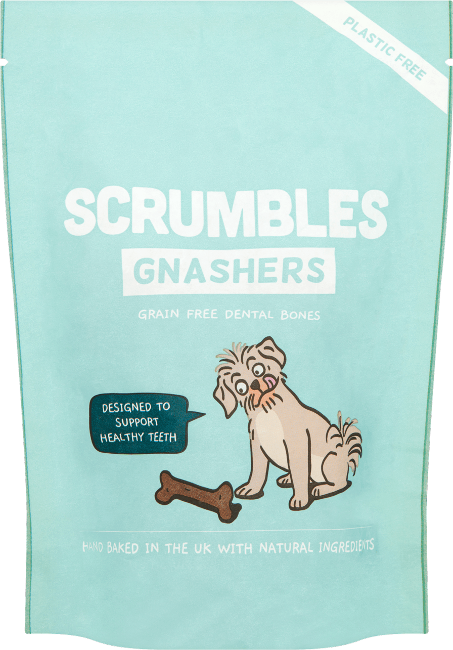 Scrumbles Gnashers - Daily Dog Dental Chews