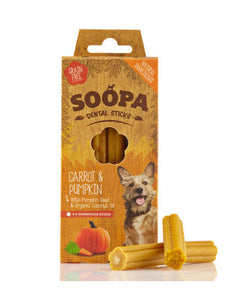 Soopa Carrot & Pumpkin Dental Sticks