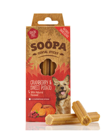Soopa Cranberry & Sweet Potato Dental Sticks