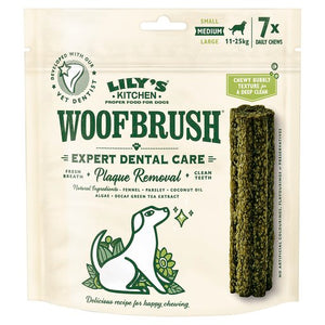 Lily's Kitchen Woofbrush Dental Chew Medium (Multipack)