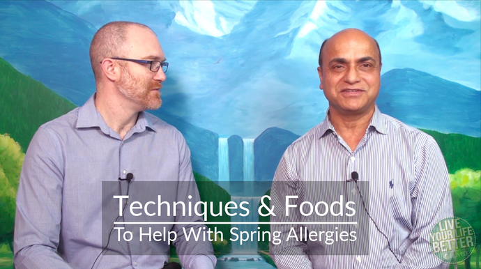 Techniques And Foods To Help With Spring Allergies