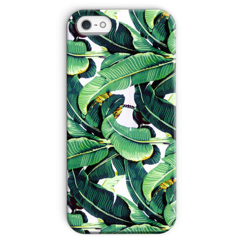 Leaf Print Phone Case
