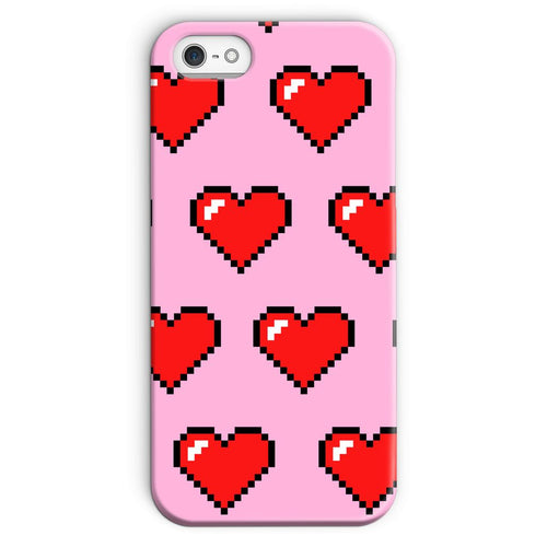 Heart Print Phone Case