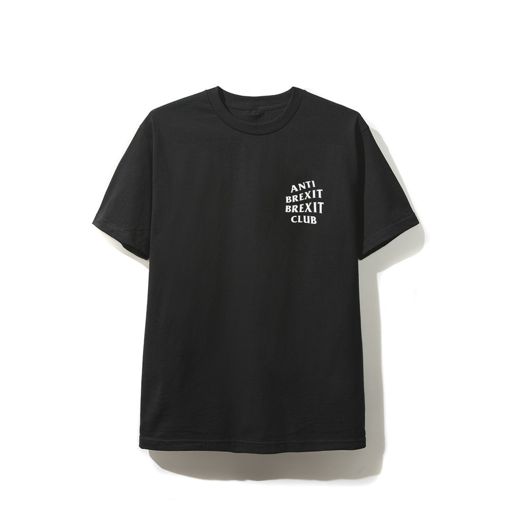 Anti Brexit Brexit Club T-Shirt - Black