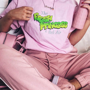 Fresh Princess Tee in Pink