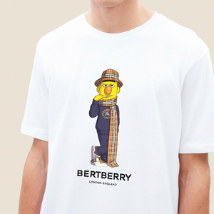 Bertberry 2 T-shirt - White