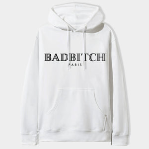 Badbitch Hoodie in White
