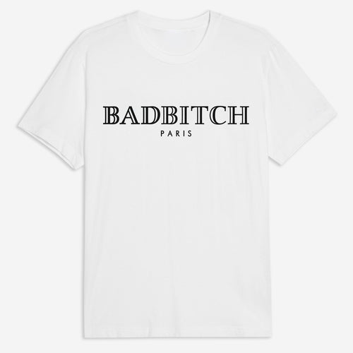 Badbitch Tee in White
