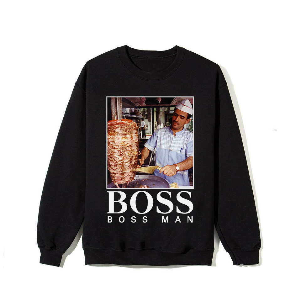 Boss Man Sweatshirt - Black
