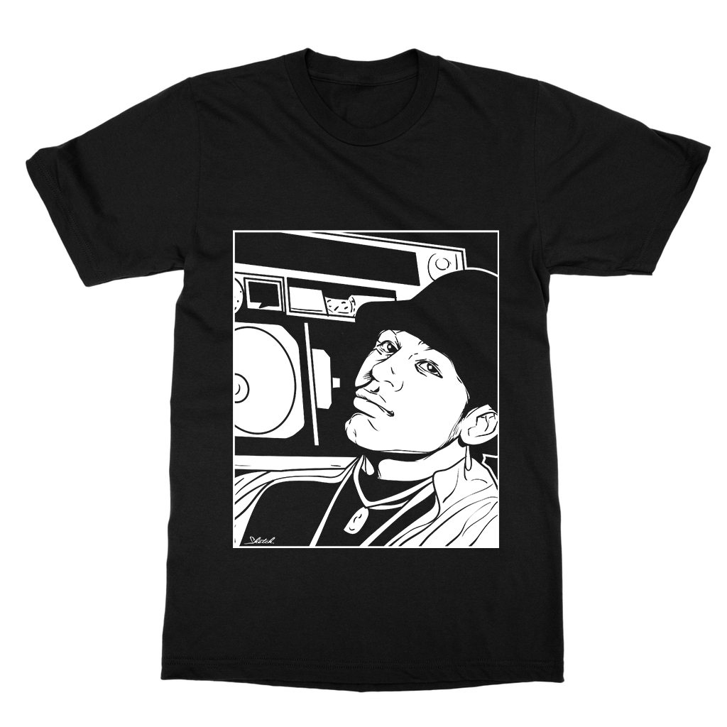 LL Cool J Print Tee - Black
