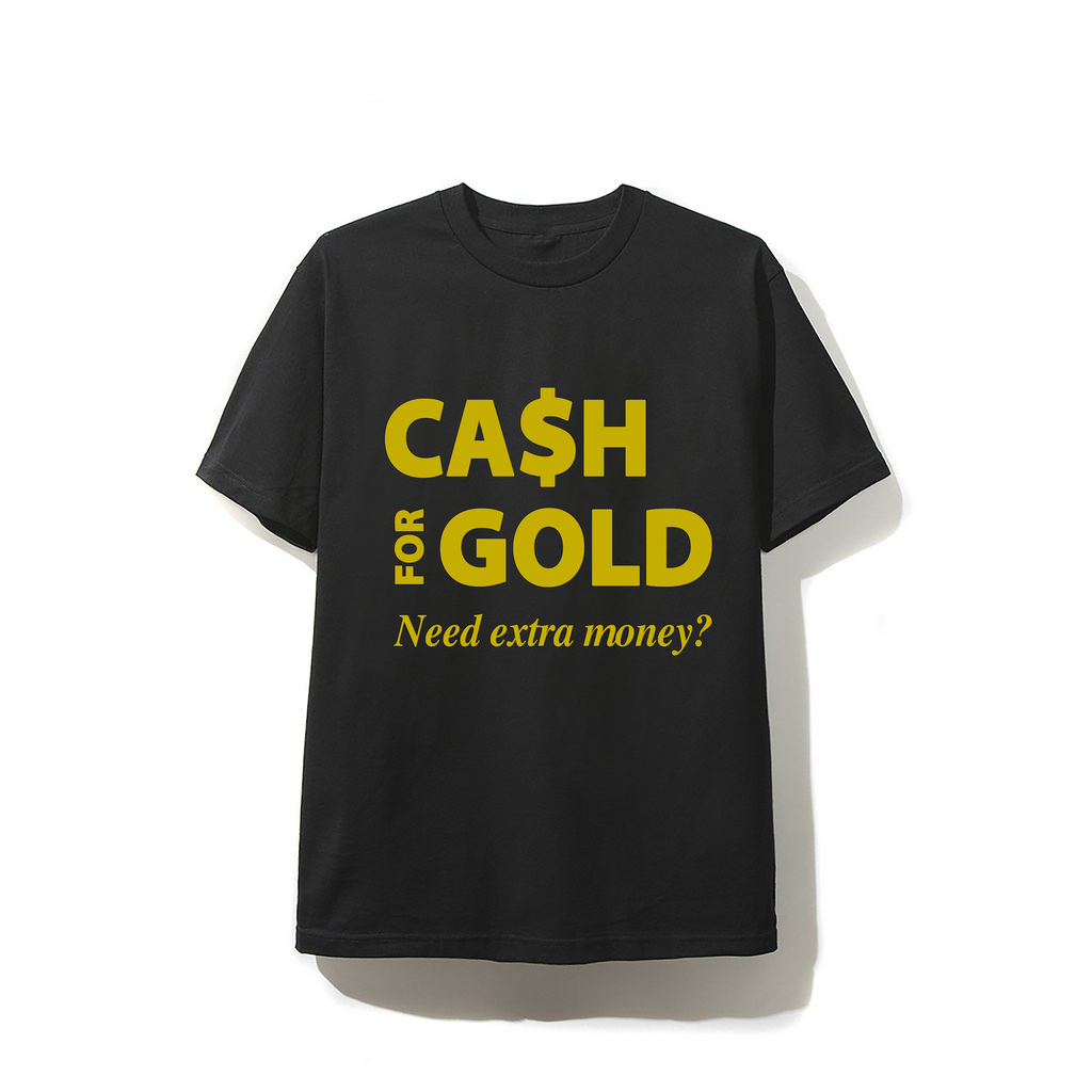 Cash 4 Gold  T-shirt - Black