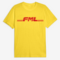 FML Tee in Yellow