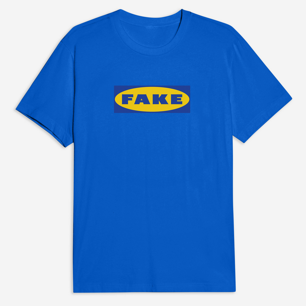 Fake x Ikea Tee in Blue