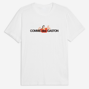 Comme Des Gaston Tee in White