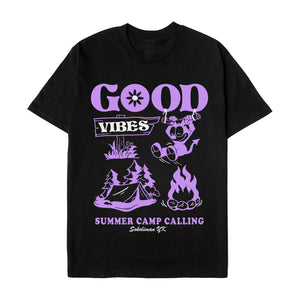 Good Vibes Camp Tee